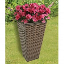 Casa Brown Tapered Planter Small