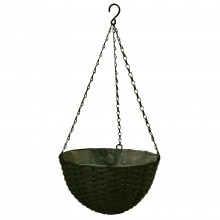 Casa Hanging Basket Large, Grey