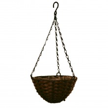 Casa Hanging Basket Small, Brown