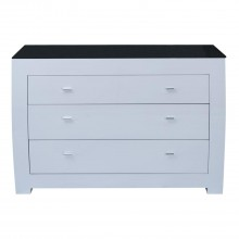 Casa Emily 3 Drawer Chest of Drawers