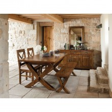 Casa Java Table & 6 Chairs Dining Set