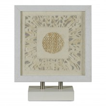 Casa White Frame Analeigh Art Piece
