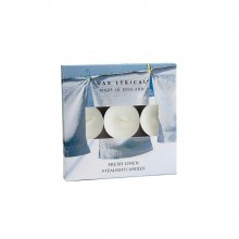 Colony Tealights Box Of 9 Fresh Linen, Blue