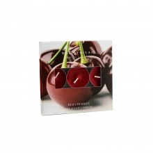 Tealights Red Cherries Box of 9