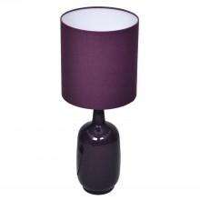 Larter Table Lamp, Purple