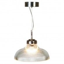 Paris Pendant Light, Nickel