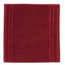 Vossen Vienna Style Super Soft Face Cloth, Ruby