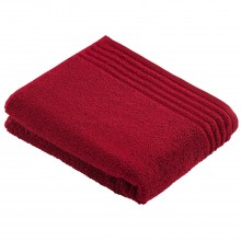 Vossen Vienna Style Super Soft Bath Sheet, Ruby