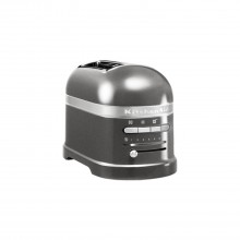 KitchenAid 2 Slot Toaster, Medallion Silver
