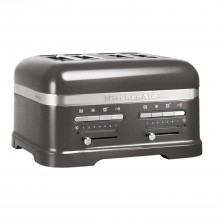 KitchenAid  4 Slot Toaster, Medallion Silver