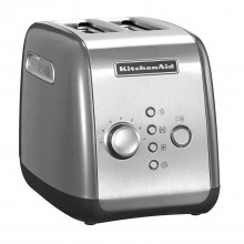 KitchenAid  2 Slot Toaster, Contour Silver
