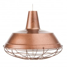 Hammel Ceiling Shade, Antique Copper