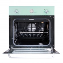 Belling Scbi60fp Electric Single Oven 60cm, Pastel Green