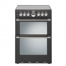 Stoves Sterling 600df 60cm Cooker 60cm, Black