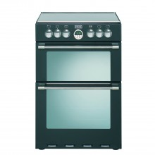 Stoves Sterling 600e 60cm Cooker 60cm, Black