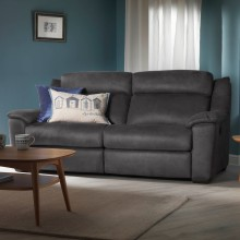 Casa Dallas 2 Seater Double Manual Recliner Sofa