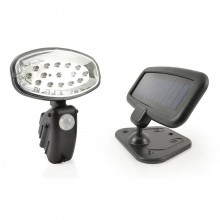 The Solar Centre Evo15 Solar Pir Utility Light, Black