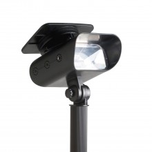 The Solar Centre Thea Solar Garden Spotlight, Black