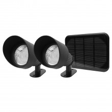 The Solar Centre Selene Solar Spotlights, Black