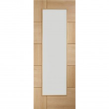 "Xl Joinery 30"" Internal Pre Finish Ravenna With Clear Glass, Oak"