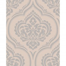 Fine Decor Sparkle 2 Ornamental Damask Wallpaper, Taupe