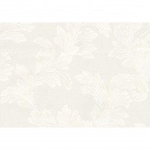 Belgravia Florence Leaf White Wallpaper
