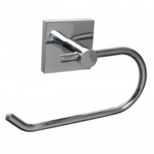 Miller Of Sweden Cube Toilet Roll Holder, Chrome