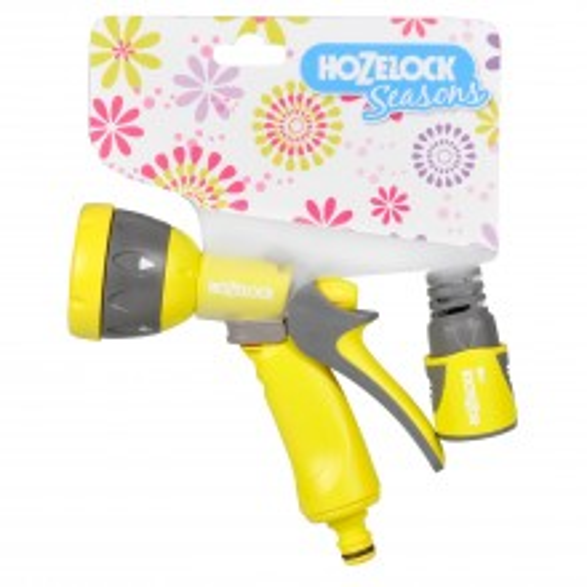 Hozelock Multispray Gun & Fitting Set, Lime