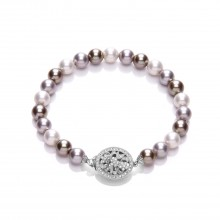 Buckley London Multi Pearl Bracelet