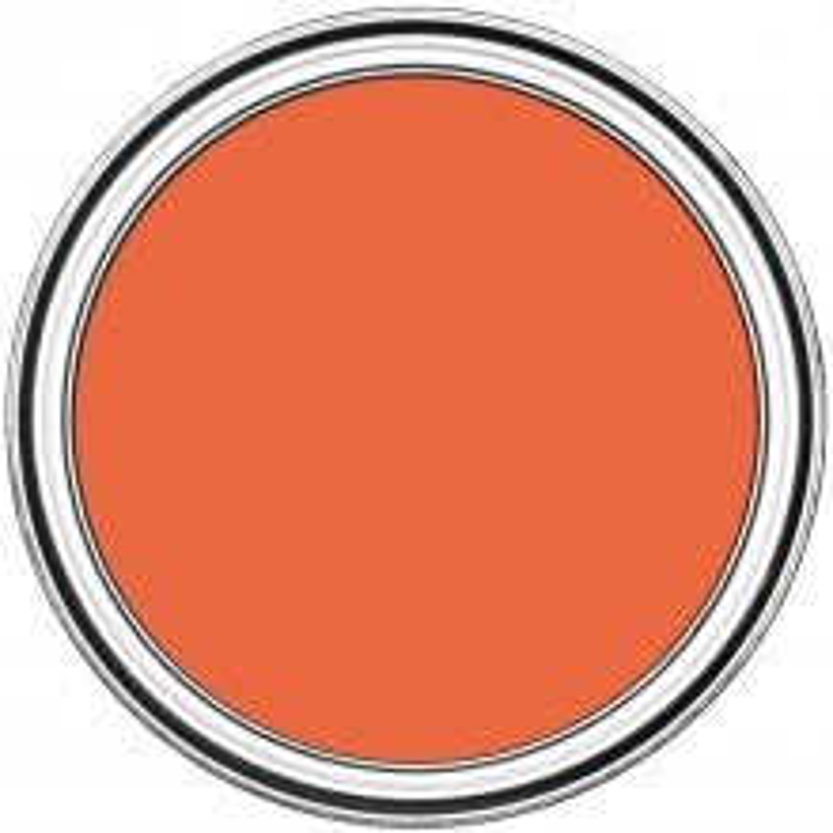 Rustoleum Chalky Furniture Paint 125ml, Pumpkin