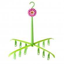 Addis Flower Power Folding Drying Clothes Rack