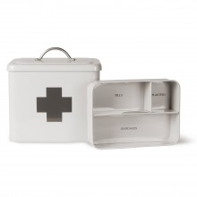 Garden Trading First Aid Box In Chalk