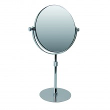 Miller Of Sweden Mirror Free Standing, Chrome