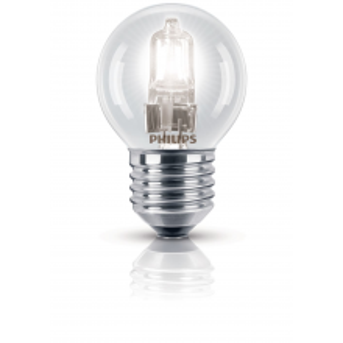 Philips Ecoclassic Halogen 42w Lustre Bulb 240v B22, Warm White