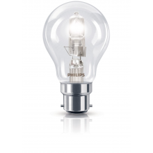 Philips Ecoclassic 70w B22 Bulb 240v A55, Warm White