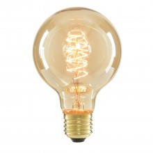 Cascade Electrolite G80 Vintage Bulb 40w Edison Screw Fitting, Tinted