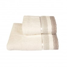 Allure Lauren Lace Bath Towel, Grey