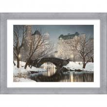 Artko Central Park Winter 112x86cm, Grey