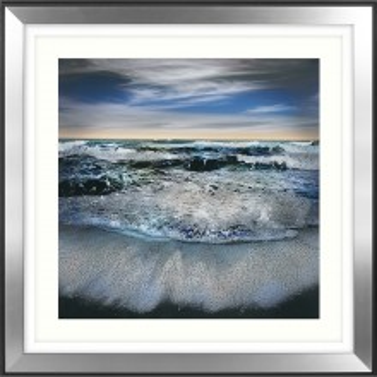 William Vanscoy All I Have To Give Framed Art, Blue