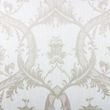 Fine Decor Milano Damask Wallpaper, White