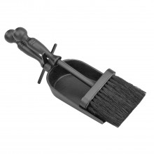 Manor Duchess Hearth Tidy, Black