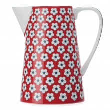 Christopher Vine Cotton Bud Jug 3.5l, Red
