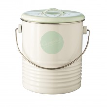 Typhoon Compost Caddy, Cream