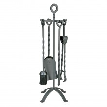 Manor Village Companion Set, Black