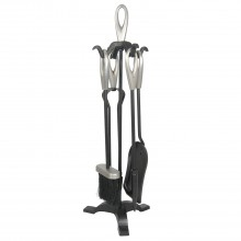 Manor Orion Loop Companion Set, Black/pewter
