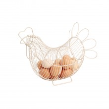Provence Chicken Basket, Cream