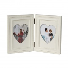 Hampton Frames Rachel Double 4x6 Frame, Cream