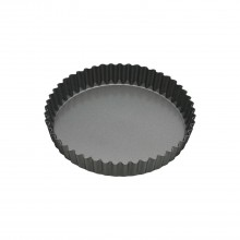 KitchenCraft 18cm Quiche Tin, Black