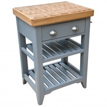 Casa Padstow Butchers Block, Oak/Grey