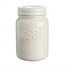 Kilner Ceramic Storage Jar, Moonlight Grey